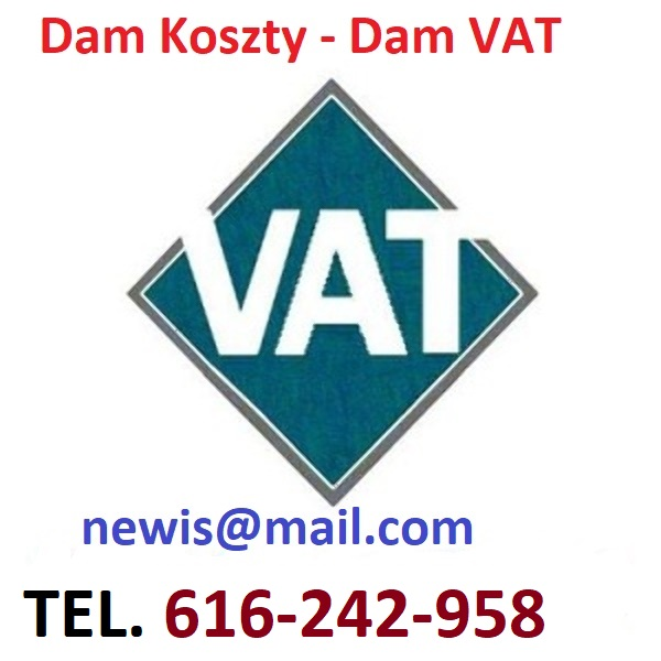 Sprzedam koszty VAT, faktury VAT