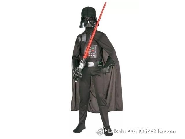 STAR WARS Lord Vader + MASKA przebranie strój karnawałowy OKAZJA