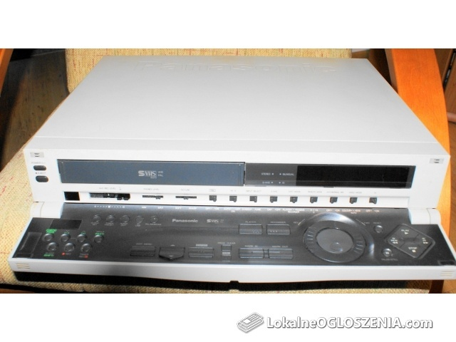 PANASONIC AG4700 S-VHS REJESTR WIDEO SEMI PRO Z VITC TIMECODE
