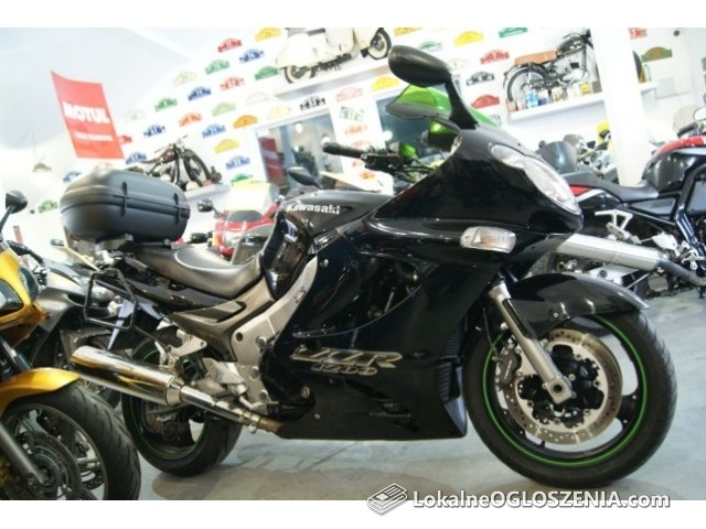 Kawasaki ZZR 1200 + NOWE kufry, super stan !!! niski przebieg !