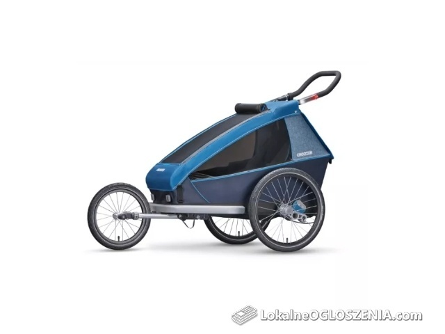 Przyczepka Rowerowa CROOZER KID PLUS FOR 1 NEXT GENERATION model 2018