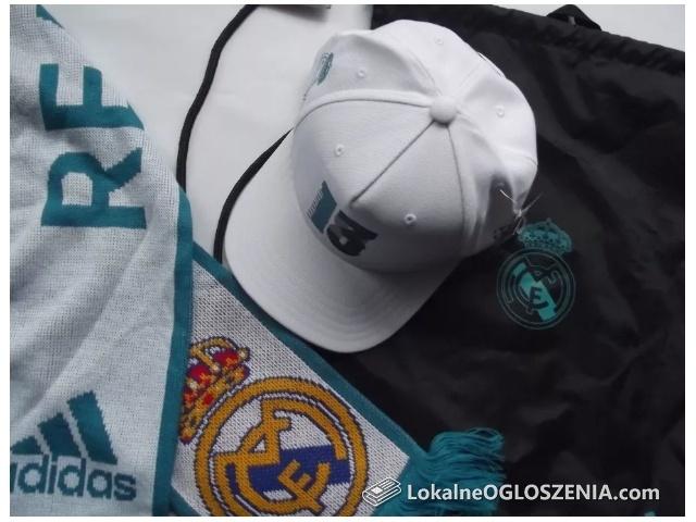 Real Madryt czapka adidas szalik worek - zestaw