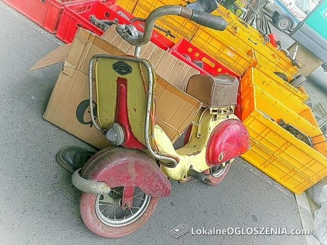 Stary dziecięcy rowerek PRL Skuterek POLSPORT azak Bielsko PILNE