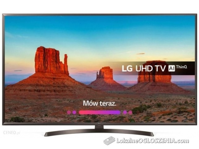 Nowy LG 55 cali 4k smart WiFi 55uk6400 gw24m