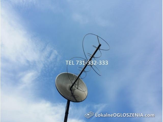 Montaż NC PLUS CYFROWY POLSAT DVB-T NAZIEMNA