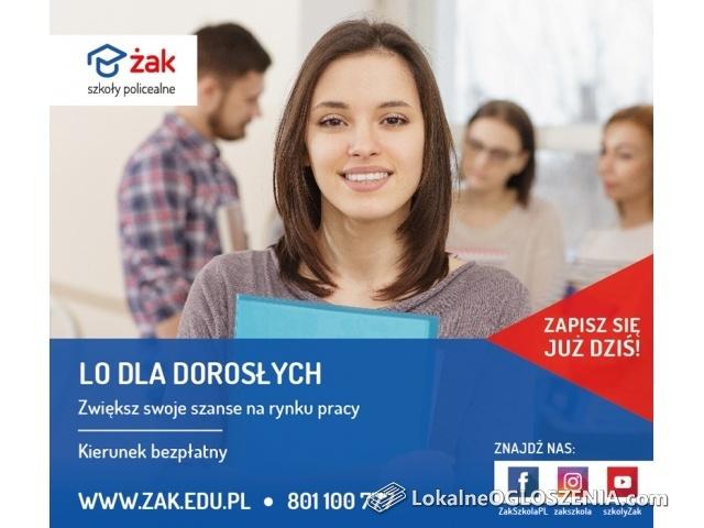 Liceum dla dorosłych – zacznij naukę w Szkole Żak!