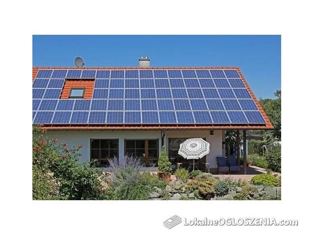 Instalacja fotowoltaiczna na grunt FOTOWOLTAIKA 6,8- 7 kWp +MONTAŻ