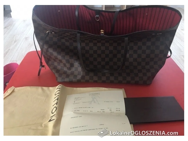 Torebka Louis Vuitton Neverfull GM Canvas
