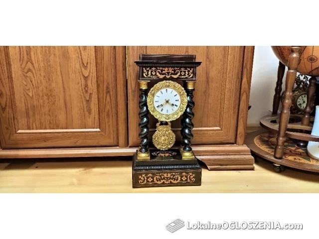 Zegar portykowy, wahadłowy Francja, Paryż, poł. XIX w.