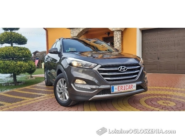 Hyundai tucson 1.7crdi auto fabrycznie jak nowe gwarancja serwisowa