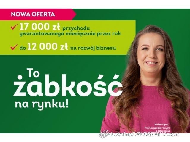 Poprowadź własny sklep Żabka w Lipnie