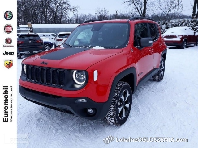 Jeep Renegade Face lifting rabat: 16% (23 970 zł)
