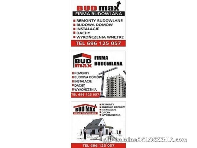 Firma Remontowo-Budowlana BUD-MAX
