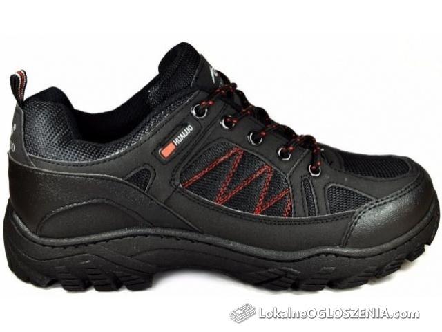 M674 Czarne Męskie Oddychające Trekkingowe Adidasy WORKERY r.41-46