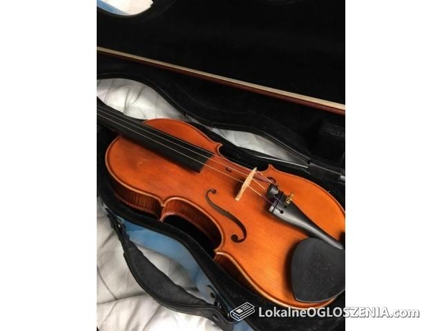 Sprzedam skrzypce lutnicze 4/4 z pracowni Marka Tkaczyka.