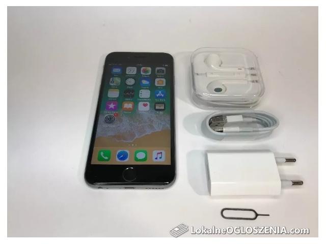 Iphone 6S 32GB SZARY. IDEALNY! FV23% +GRATYSY! Wysyłka. Gwarancja