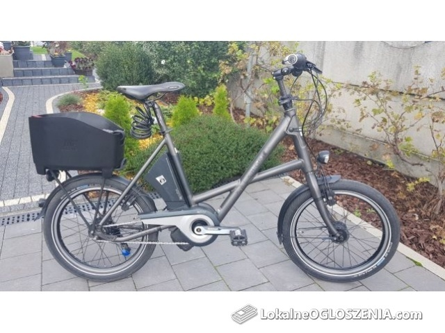 Rower elektryczny KALKHOFF Sahel 36v Panasonic impuls kola 20 cali