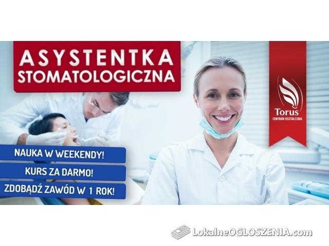 Asystentka stomatologiczna - bezpłatne kierunki Szkoły Medycznej w Centrum Kształcenia TORUS