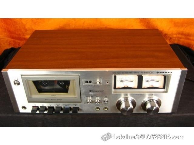 Vintage Deck SANYO RD 5030UM Wzmacniacz RADIO Wieża Kolumny amplituner