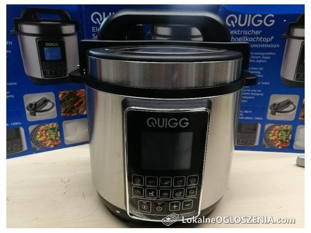 Szybkowar elektryczny Quigg 5L 900W Nowy!!!