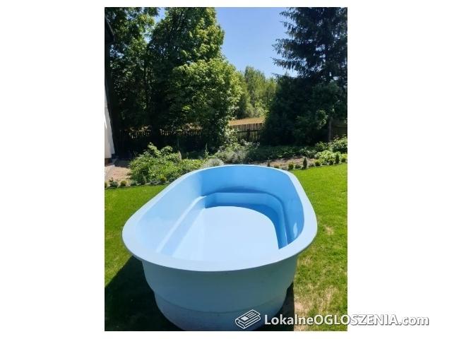 Basen ogrodowy / poliestrowy / laminat / wytrzymały