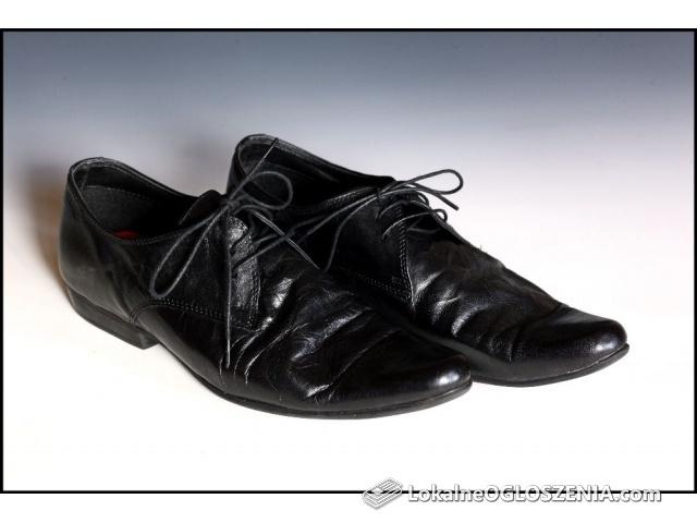 Buty męskie skórzane Sole Revolution 9/43 sznurowane jak nowe