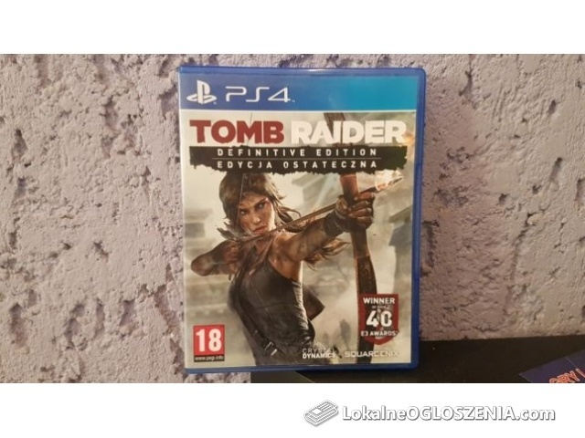 Tomb Raider / PS4 / PL Dubbing