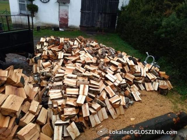 Drewno opałowe drewno kominkowe układane