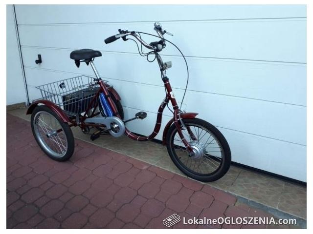 Rower rehabilitacyjny z napędem elektrycznym TOLEK