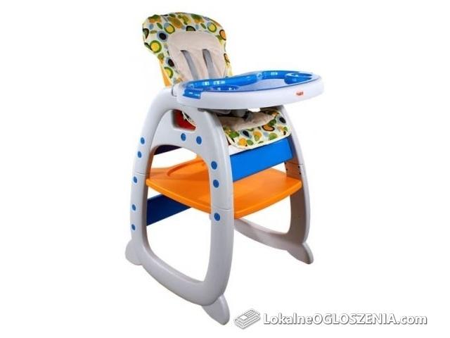 Nowe krzesełko do karmienia i zabawy