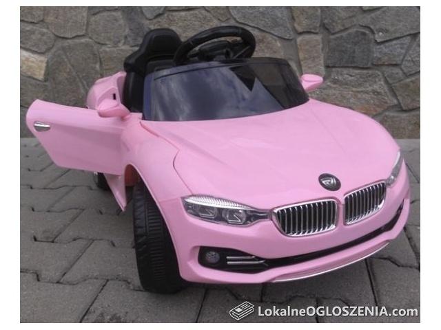 Auto Na Akumulator Różowy BMW