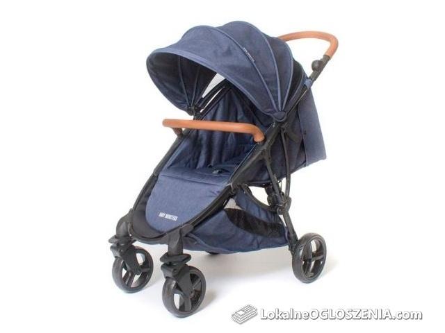 BABY MONSTERS wózek spacerowy COMPACT Jeans Edycja Limitowana