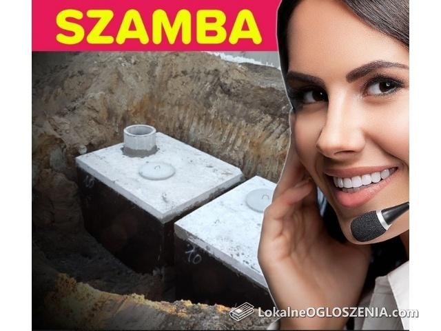 Szambo betonowe 10m3 Zbiornik na Gnojowicę Deszczówkę PUŁAWY i okolice