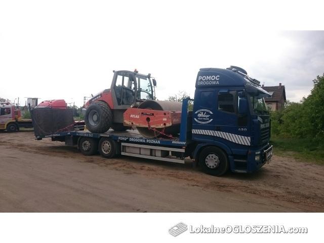 Transport maszyn budowlanych i rolniczych - Fast-Trans 600-960-987