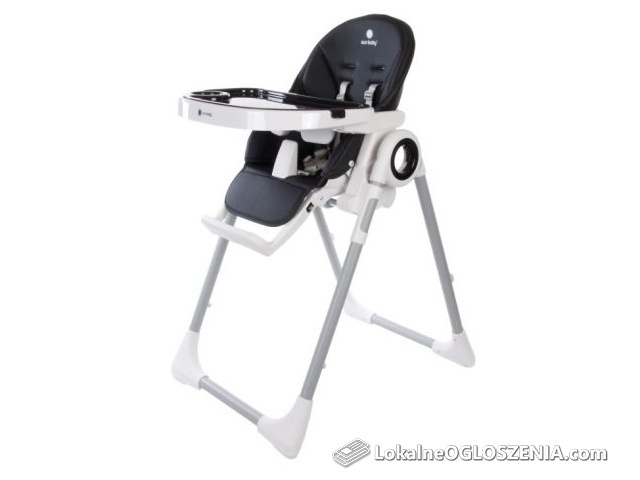 Krzesełko do karmienia/leżaczek Sun Baby Fidi czarne