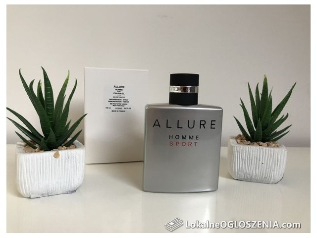 Tester Perfum Chanel Allure Homme Sport
