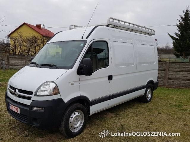 Opel Movano 2.5dci L2H2 Klimatyzacja