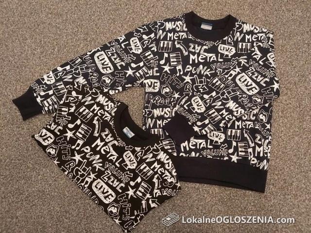 Bluzy dla bliźniaków rozmiar 122