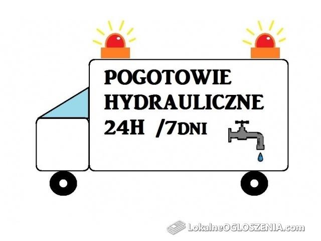 Pogotowie Hydrauliczne 24H/ Przepychanie / Hydraulik / Hydraulika