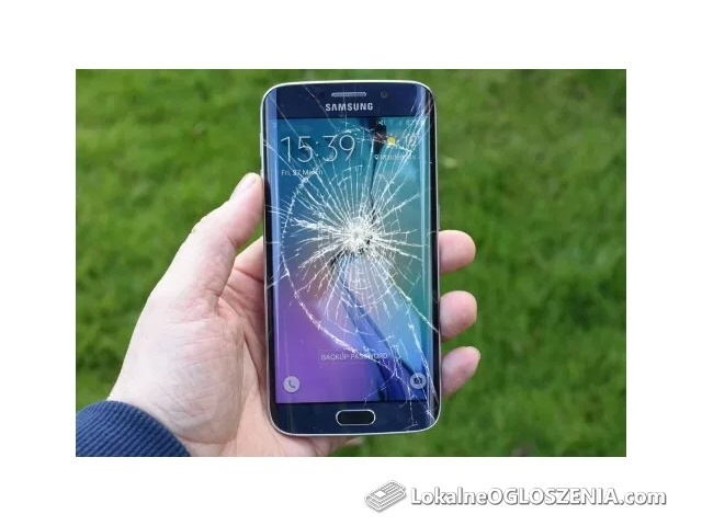 Wymiana naprawa zbitej szybki Samsung S7 Edge S8 S8+ 499pln