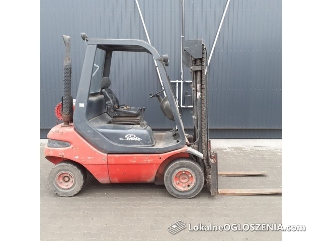 Linde H25 Gaz, wózek widłowy