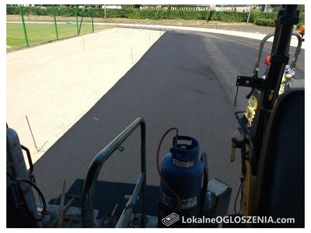 Budowa dróg asfaltowych , układanie asfaltu , asfalt , asfaltowanie