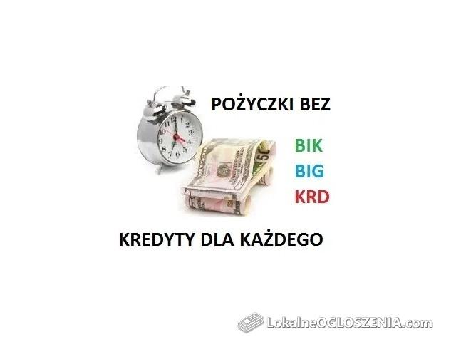 Pożyczki pozabankowe bez BIK - najwyższa przyznawalność!