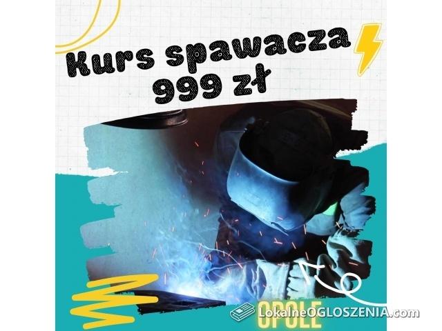 Kurs spawacza Opole - cena promocyjna