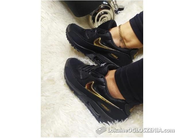 Air maxy Nike 90 damskie rozmiar 36 do 40 Czarne Premium Jakość