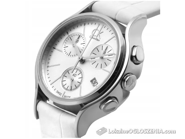 NOWY Zegarek damski Calvin Klein K2U291L6 -60% ceny