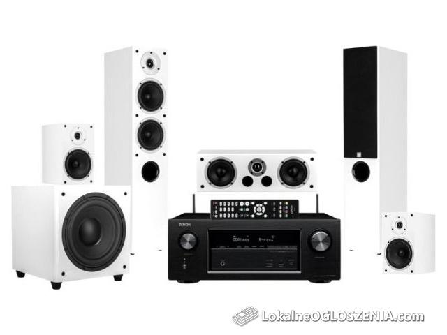 Kino domowe DENON AVR-X1500H + głośniki