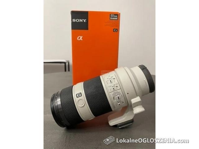 Duże zdjęcia Obiektyw Sony 70-200 F4 G OSS