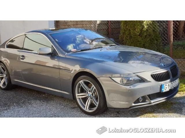 BMW 645 Ci coupe, 2004, N62-stan bardzo dobry,polecam!