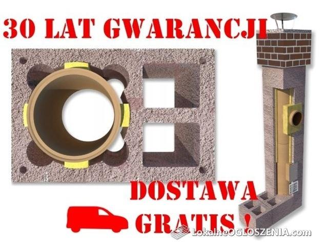 Komin 8m KW2 fi 200 Komin systemowy Ceramiczny DOSTAWA GRATIS!!